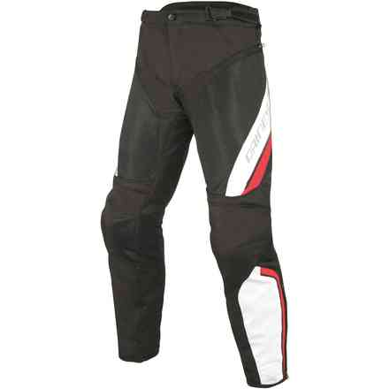 Pantaloni Drake Air d-dry nero bianco rosso Dainese