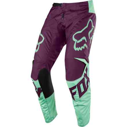 Pantaloni Fox Cross 180 Race Viola -Verde Fox