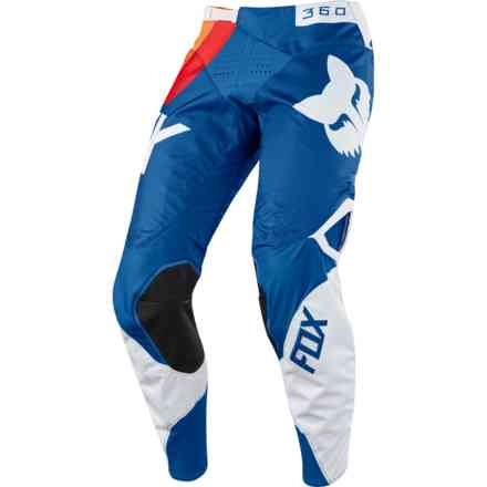 Pantaloni Fox Cross 360 Draftr Blu Fox