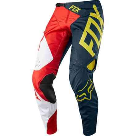 Pantaloni Fox Cross 360 Preme   Navy-Rosso Fox