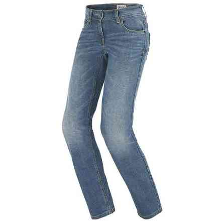 Pantaloni J-Flex Lady blue used medium Spidi