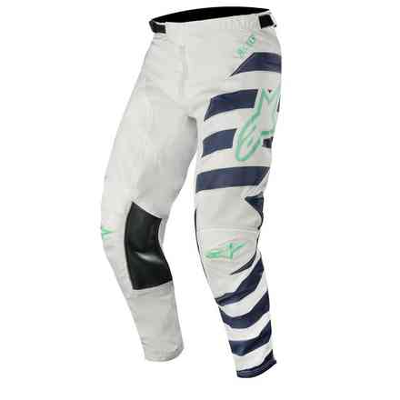 Pantaloni Racer Braap 2019 Cool Gray Dark Navy Teal Alpinestars