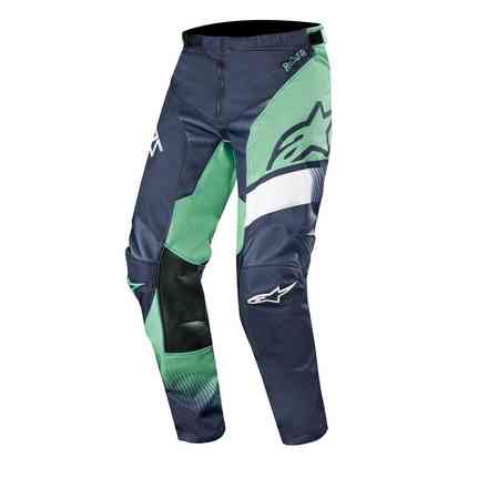Pantaloni Racer Supermatic Navy Scuro Teal Bianco Alpinestars