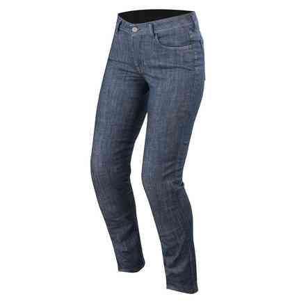 Pantaloni Stella Courtney Denim Blu Lavato Alpinestars