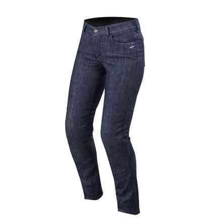 Pantaloni Stella Courtney Denim Rinse Scuro Alpinestars