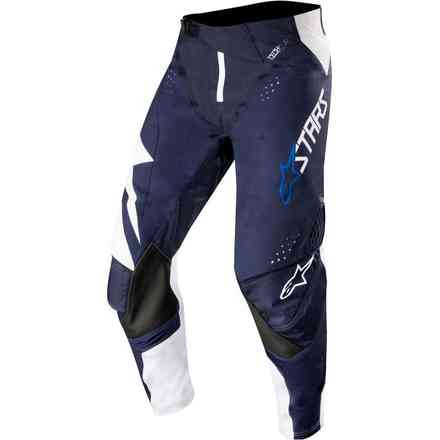 Pantaloni Techstar Factory Bianco Navy Scuro Alpinestars