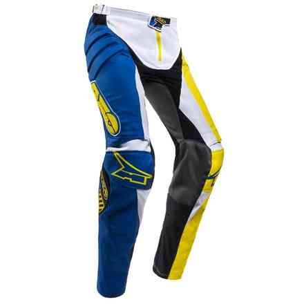 Pantaloni Trans-Am Blue/Yellow Axo