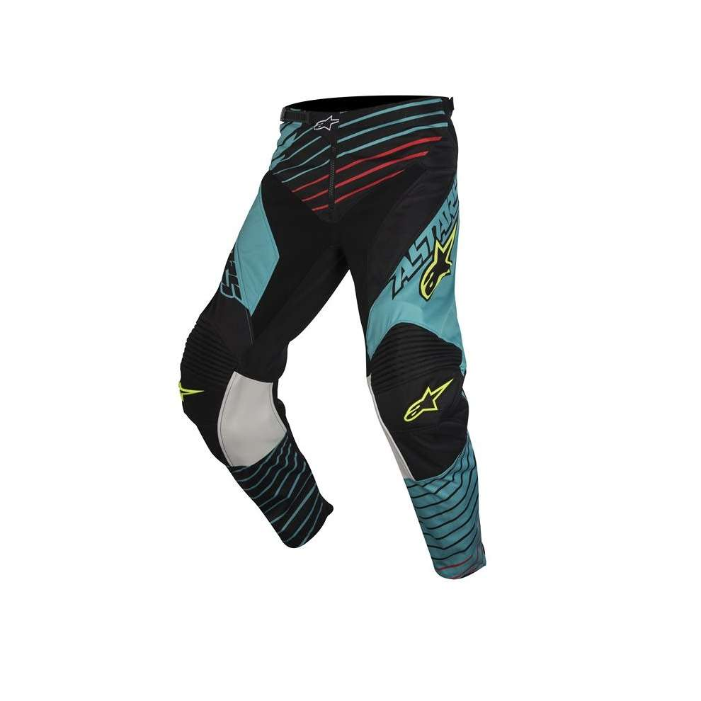 Pantaloni Youth Racer Braap 2017 blu nero Alpinestars