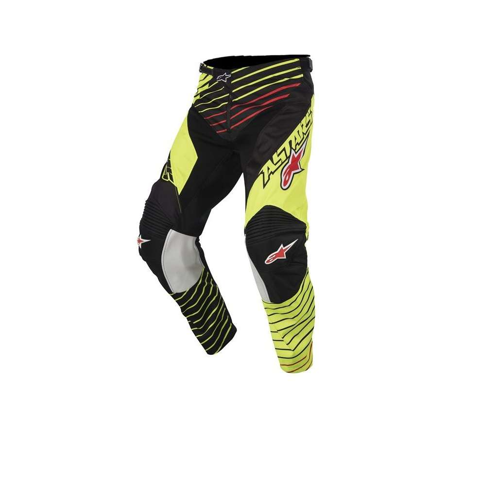 Pantaloni Youth Racer Braap 2017 giallo nero Alpinestars