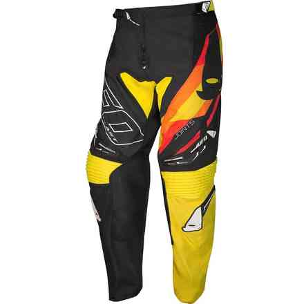 Pants Cross Joints Black Yellow Ufo