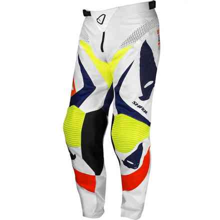 Pants Cross Shade White Yellow Blue Ufo