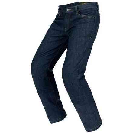 Pants J K Evo Dark Blue Used Spidi