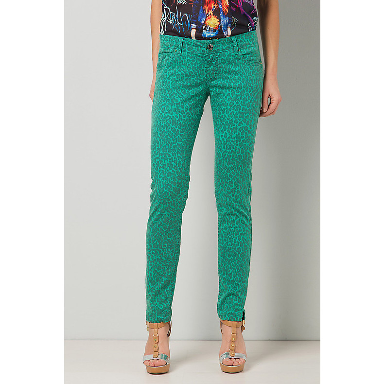 pants pop tropical green Gaudi
