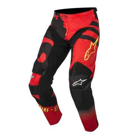 Pants Racer Braap red-black-yellow Alpinestars