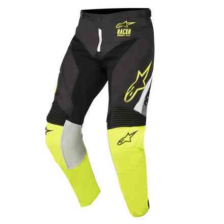 Pants Racer Supermatic 2018 black-yellow Alpinestars