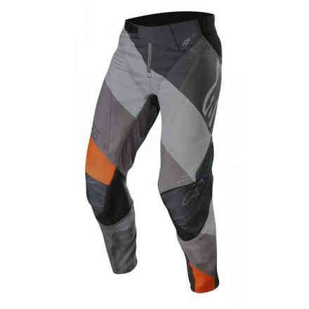 Pants Techstar Venom Antrhacite Gray Orange Fluo Alpinestars