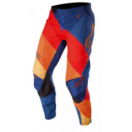 Pants Techstar Venom Dark Blue Red Tangerine Alpinestars