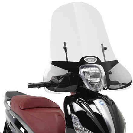 Parabrezza per Beverly 125ie-300ie (10 > 17) / Beverly 350 Sport Touring (12 > 17) Givi