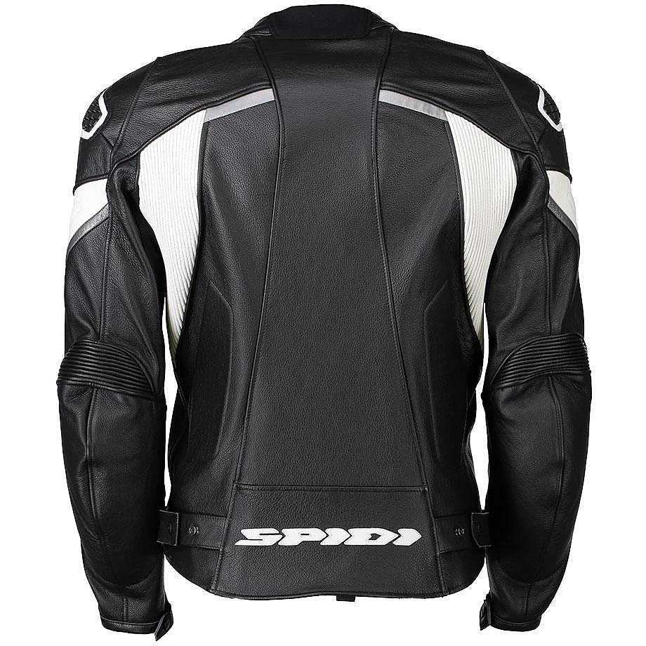 Alpinestars Motorcycle Jacket >> Outlet Pelle Ignite jacket black white Jackets Leather ...
