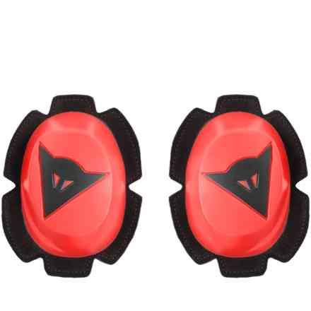 Pista Knee Slider Fluo-Red/Blk Dainese