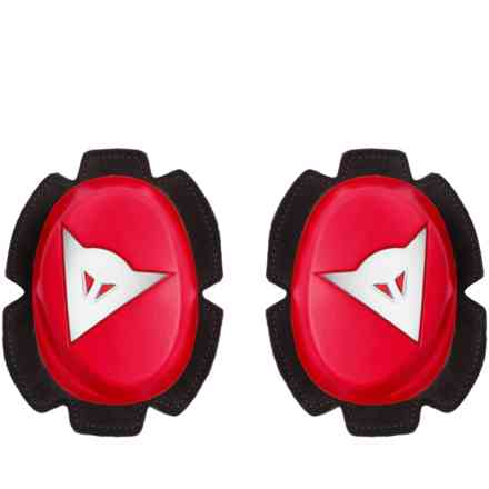 Pista Knee Slider Red/Wht Dainese