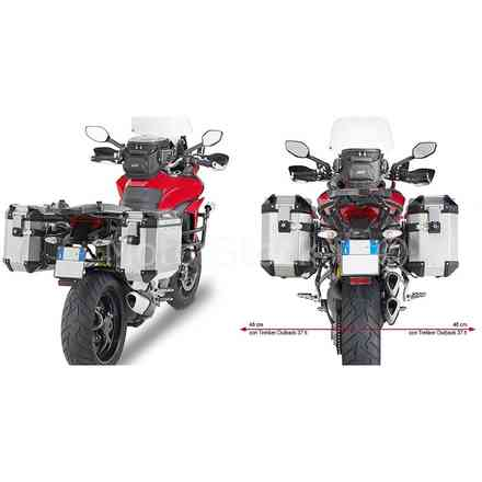 Port Side Koffer Ducati Multistrada Givi