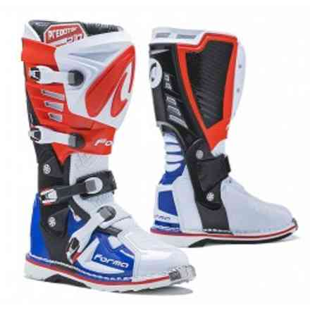 Predator 2.0 boots white / red / blue Forma