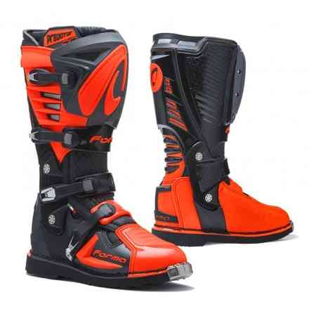 Predator 2.0 Stiefel anthrazit / schwarz / orange Forma