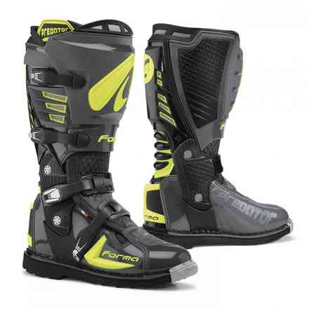 Predator boots Anthracite Yellow fluo Forma