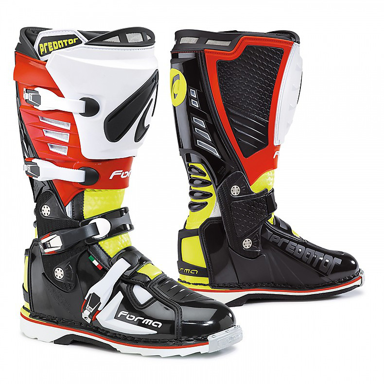 Predator Boots black-yellow fluo-red Forma