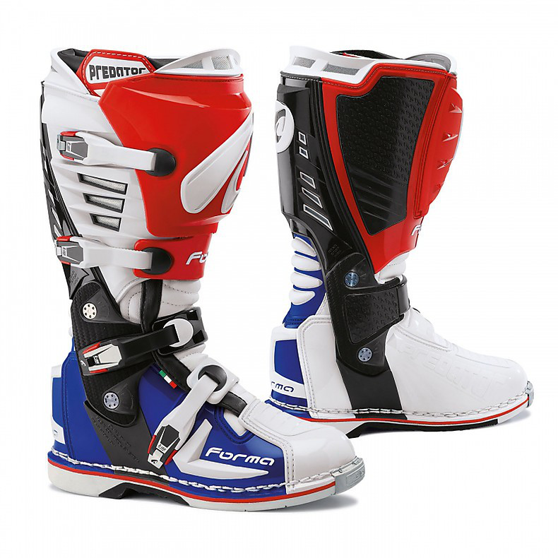 Predator Boots white-red-blue Forma