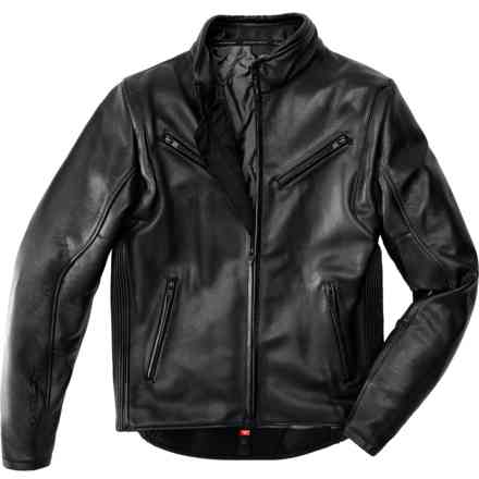 Premium leather Jacket Black Spidi