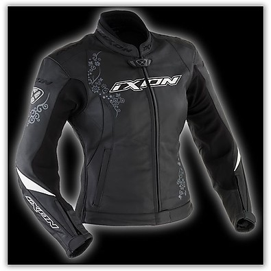 Prima VX Black  Leather Lady Jacket Ixon