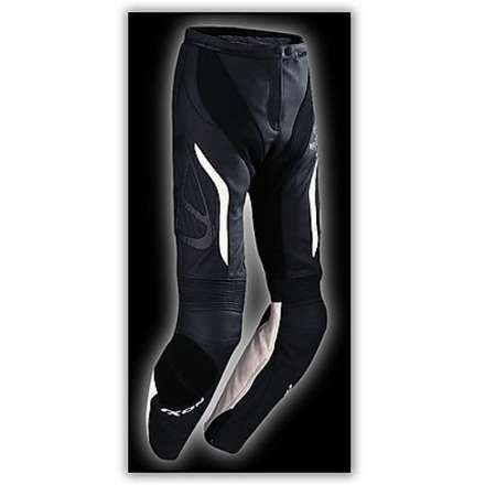 Prima VX  Black/White Lady  Leather Pants Ixon