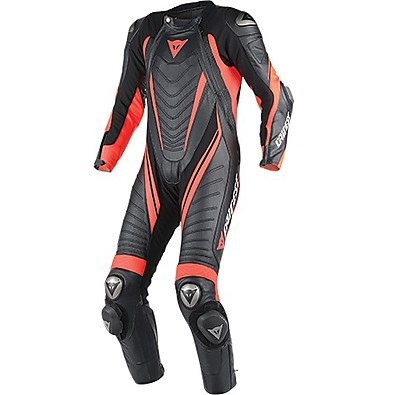 Professional suit Aero Evo D1 black-red fluo Dainese