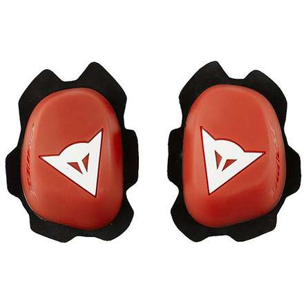 protection Knee Slider rouge-blanc Dainese