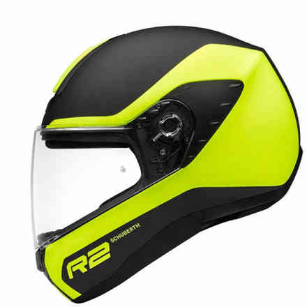 R2 Nemesis Yellow Helmet Schuberth