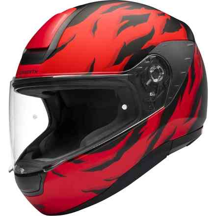 R2 Renegade Red Helmet Schuberth