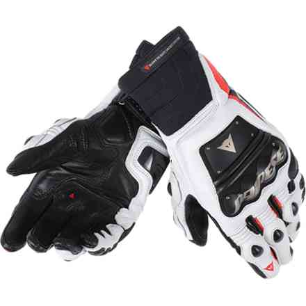 Race Pro In Gloves black-fluo red-white Dainese