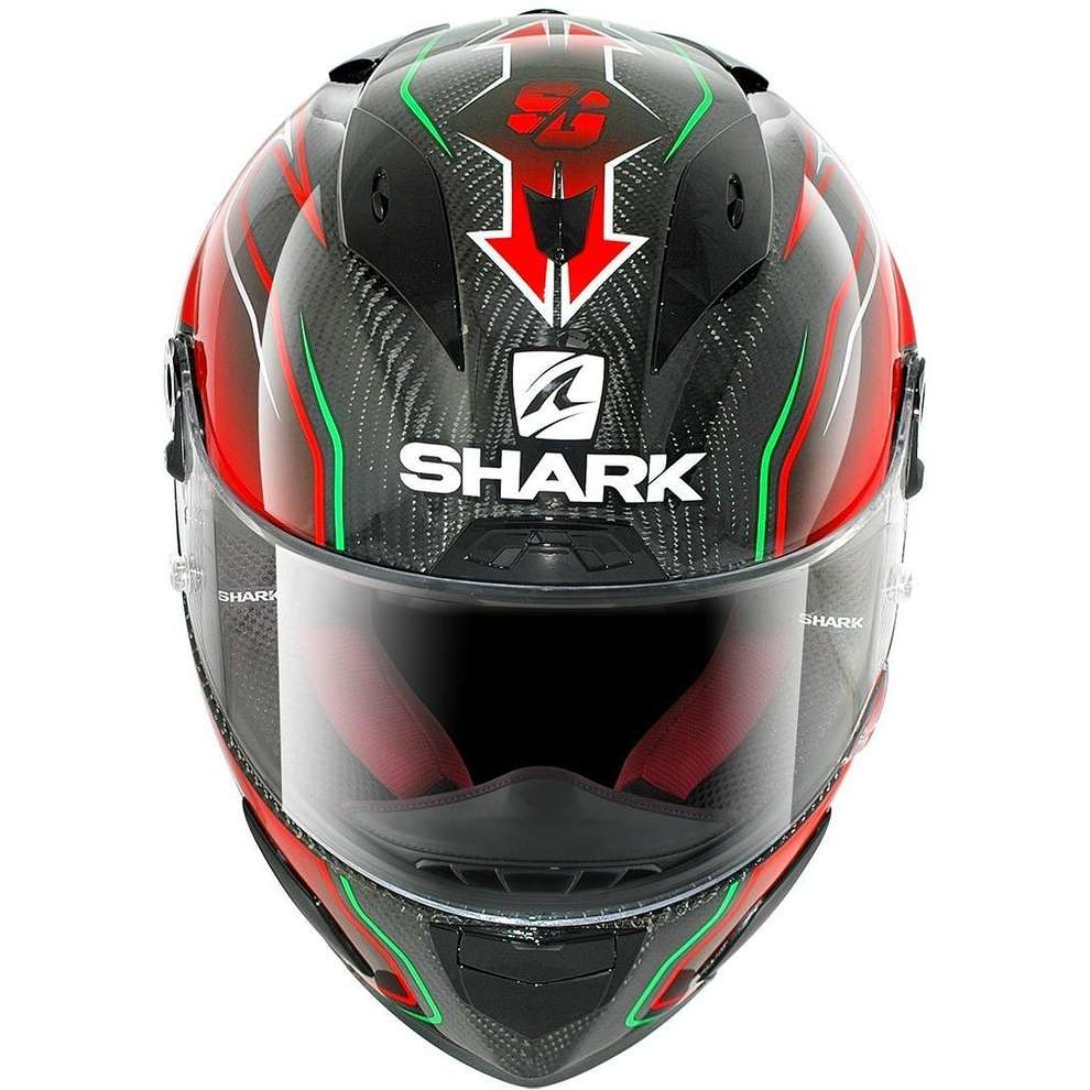 Race-R Pro Carbon Replica Guintoli Helmet  Shark