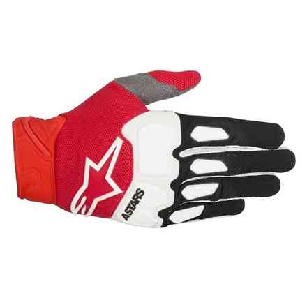 Racefend gloves black red white Alpinestars