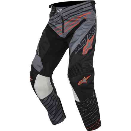 Racer Braap 2017 Hosen  grau-schwarz-orange Alpinestars