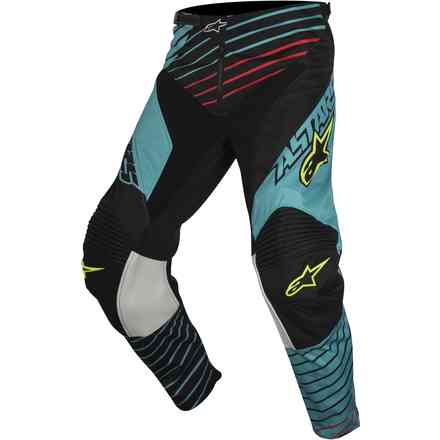 Racer Braap 2017 Pants  blue-black-yellow Alpinestars