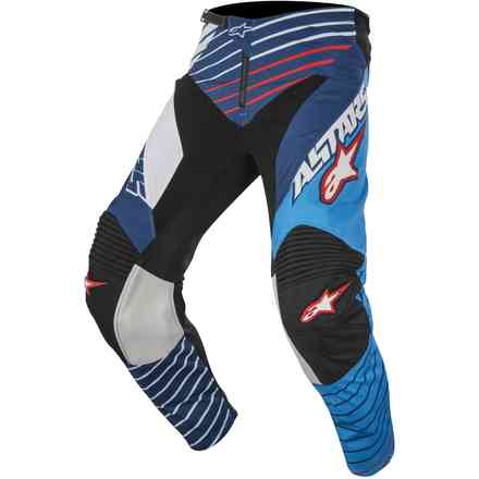 Racer Braap 2017 Pants blue-white Alpinestars