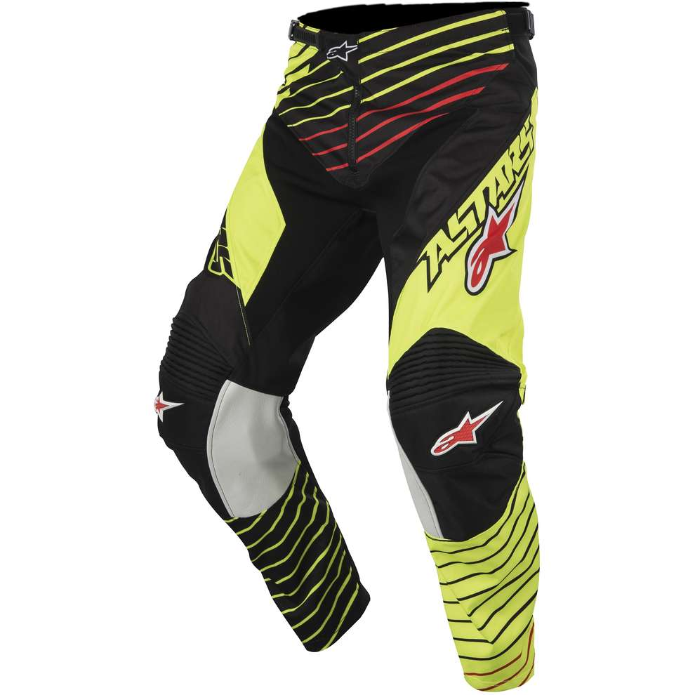 Racer Braap 2017 Pants yellow-black Alpinestars