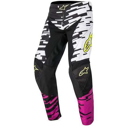 Racer Braap cross pants 2016 white-pink-black Alpinestars