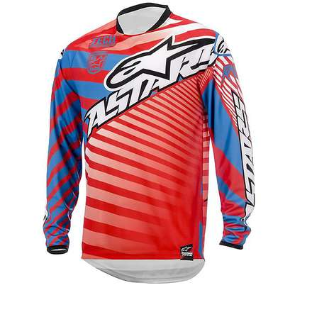 Racer Braap Jersey 2015 red-blue Alpinestars