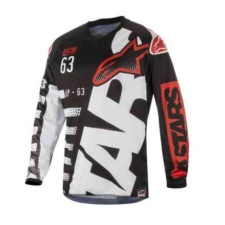 Racer Braap Jersey black-white-red Alpinestars