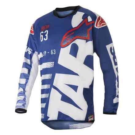 Racer Braap Jersey Blue-white-red Alpinestars