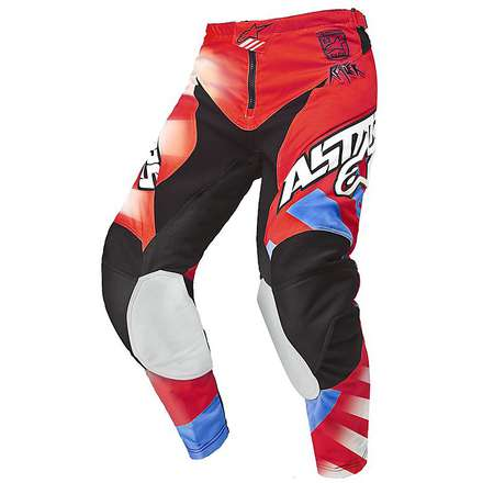 Racer Braap pants 2015 red-blue Alpinestars